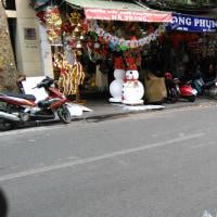 ハノイ街頭風景