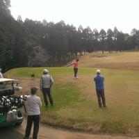 ゴルフ場の紅葉