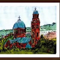 ブルガリア・ルーマニア旅行シリーズ その37 ベルコタルノボ(ブルガリア)の大聖堂