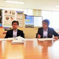 地区要望箇所の現地調査及び池田工業高校へ専攻科2年制設置要望