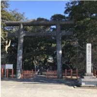 「東国三社」と呼ばれる三つの神社に初詣