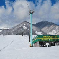 白馬のスキー場がオープンしました。