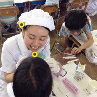 歯科衛生士科 3年生 小学校実習☆