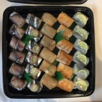 赤坂鍛治やのパーティ用棒寿司