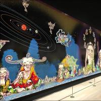森美術館、村上隆の五百羅漢図展、