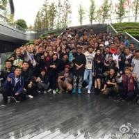 rain上海撮影クランクアップ