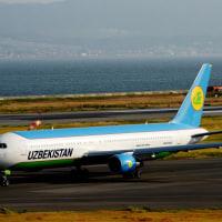 WZBEKISTAN. airways. (ウズベキスタン航空) チャーター機