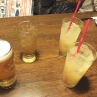 昨日 飲み会ありました 4人で 出かけました