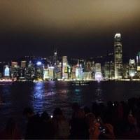 香港、光のシンフォニー