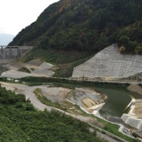 浅川ダム試験湛水12日目