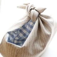 風呂敷風まるバッグ*中くらいサイズ
