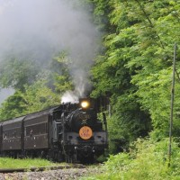 平成の蒸気機関車・只見線(9)
