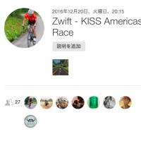 KISS Americas AM Race