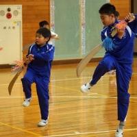たてわり剣舞練習スタート