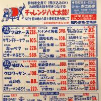 24時間チャレンジ八丈太鼓★週末特売チラシ★土曜市特別チラシ