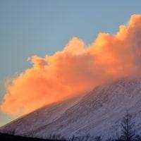 軽井沢のいろいろ 美しい冬の浅間山・・