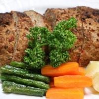 レシピ 野菜たっぷりにミートローフ