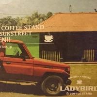 大分市府内町の美味しいコーヒースポット【LADYBIRD】