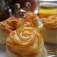 薔薇アップルパイ作ってみました