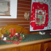 クリスマス飾りも今日までです。