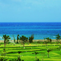 北海道発祥のパークゴルフが久米島(沖縄)で