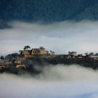 今日の香住は天空の城と立雲峡と金左ヱ門