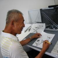 7月11日 第22回「はじめての水墨画 第10回」