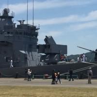 護衛艦「まつゆき」を見に行った