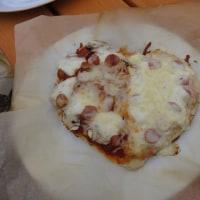 ピザを焼いたよ!!
