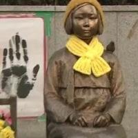 「日本は戦犯国家だから」と強弁。少女像の横に『徴用工の像』計画