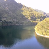 一年で一番美しい米泉湖です