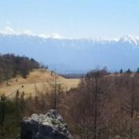 早春の八ヶ岳山麓
