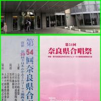 6月12日奈良県合唱祭に参加しました