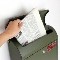 マーキュリー  MERCURY 郵便ポスト メールボックス マットオリーブ 限定カラー
