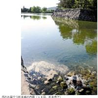 今日以降使えるダジャレ『2210』【環境】■堀の水浄化、酸化マグネシウム投入へ…松本城