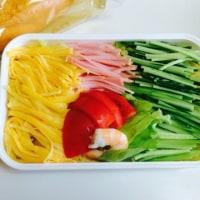 サラダと冷やし中華