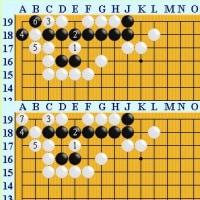 囲碁死活1171官子譜