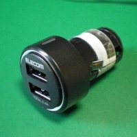 シガーソケット用USB充電器の改造