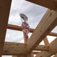 木造3階建アパート付住宅の現場報告