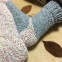 あったか手作りセータ&靴下☆今年もマラソン大会
