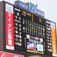【交流戦】対東京ヤクルトスワローズ4回戦@神宮球場