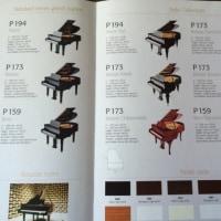 ペトロフのグランドピアノ