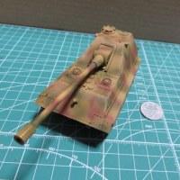 E-75 1.28cm/L55 自走砲3色迷彩