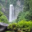 平湯大滝にはスローシャッターが合う