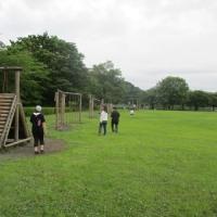 貸し切り状態の公園