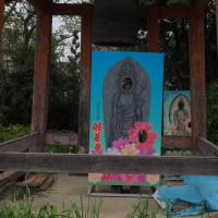 円成寺 運慶二十歳の大日如来、般若寺 花の寺の山吹(2)