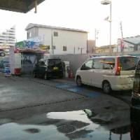 洗車の行列