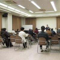 松原市の丹南町会総合会館で交通安全講習会開催!