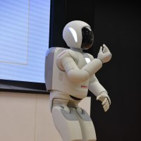 本田ウェルカムプラザにASIMOを観に行ってきました。