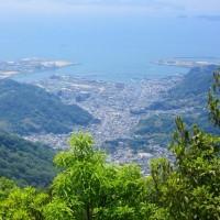 14 灰ヶ峰(737m:呉市)登山  眺望を
